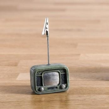 Χαρτοστάτης Τηλεόραση Ρετρό