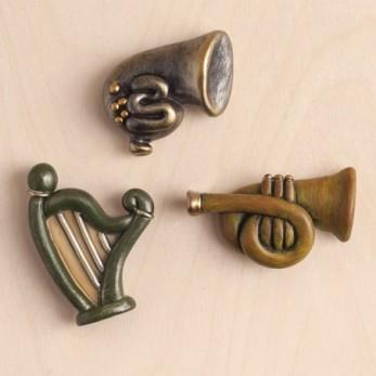 Μαγνητάκια Μουσικά όργανα...