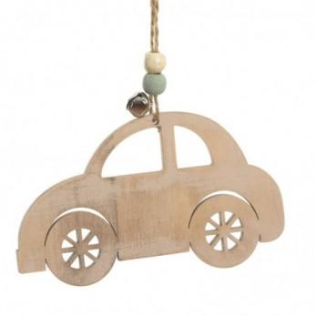 Κρεμαστό ξύλινο αυτοκίνητο