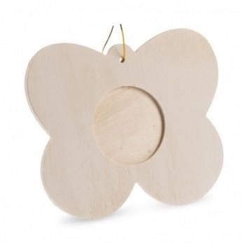 Ξύλινη κορνίζα πεταλούδα