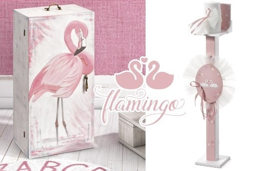 Flamingo σετ βάπτισης
