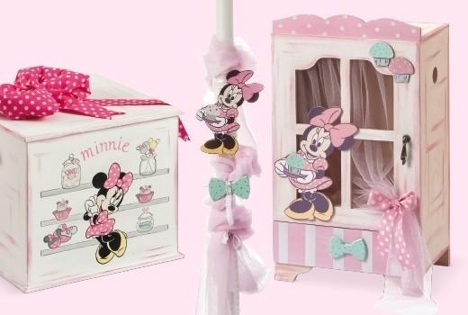 Minnie  Cupcakes σετ βάπτισης