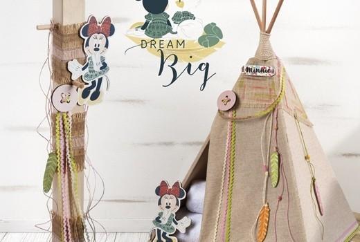 Minnie Dream Big σετ βάπτισης